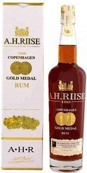 Lahev A.H.Riise Gold Medal Vintage 1888 0,7l 40%