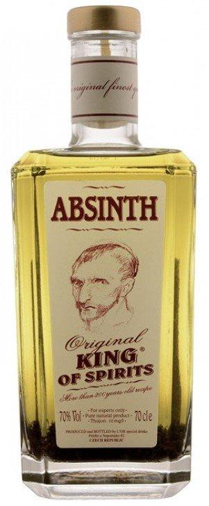 Lahev Absinth King of Spirits Original 0,7l 70%