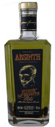 Lahev Absinth King of Spirits gold 0,7l 70%