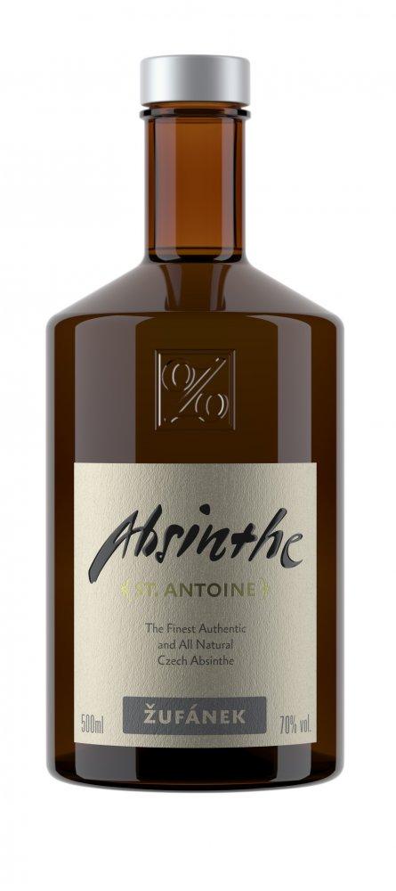 Lahev Absinthe St. Antoine Žufánek 0,5l 70%