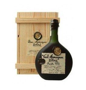 Lahev Armagnac Delord 1970 0,7l 40% Dřevěný box