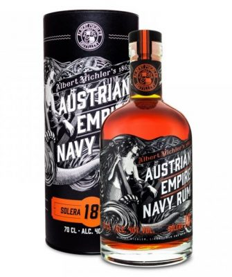 Lahev Austrian Empire Navy Rum 18y 0,7l 40% Tuba