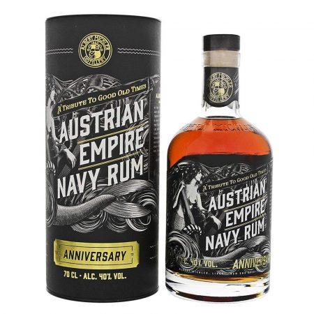 Lahev Austrian Empire Navy Rum Anniversary 0,7l 40% Tuba