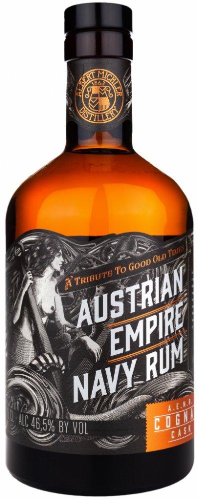 Lahev Austrian Empire Navy Rum Cognac Cask 0,7l 46,5%