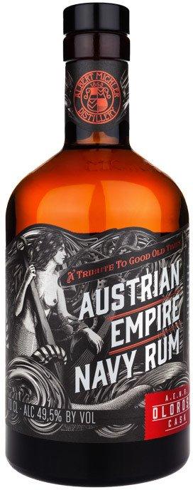 Lahev Austrian Empire Navy Rum Oloroso Cask 0,7l 49,5%