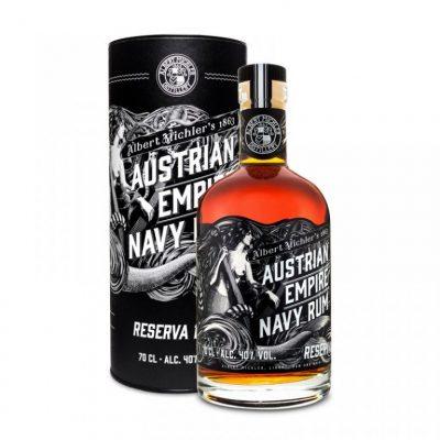 Lahev Austrian Empire Navy Rum Reserva 1863 0,7l 40% Tuba