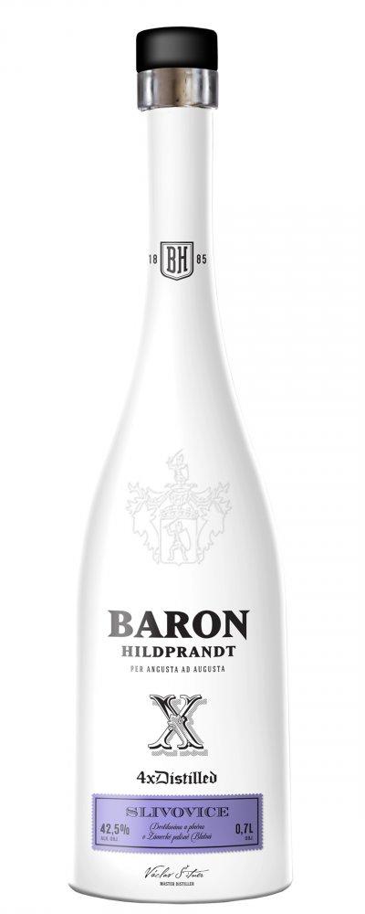 Lahev Baron Hildprandt Slivovice 0,7l 42,5%