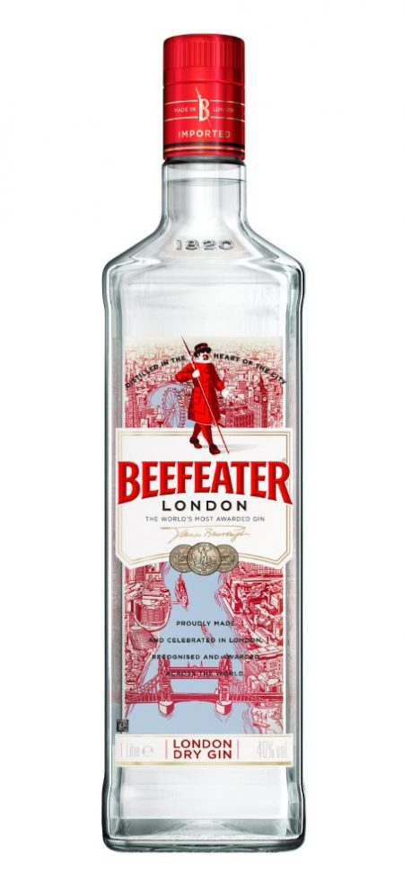Lahev Beefeater Gin 1l 40%