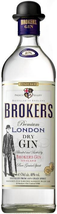 Lahev Broker's Gin 0,7l 40%