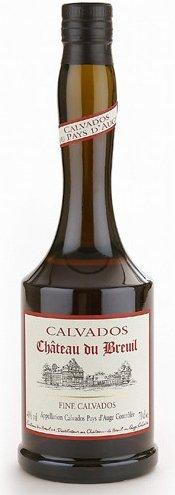 Lahev Calvados Chateau du Breuil fine 0,7l 40%