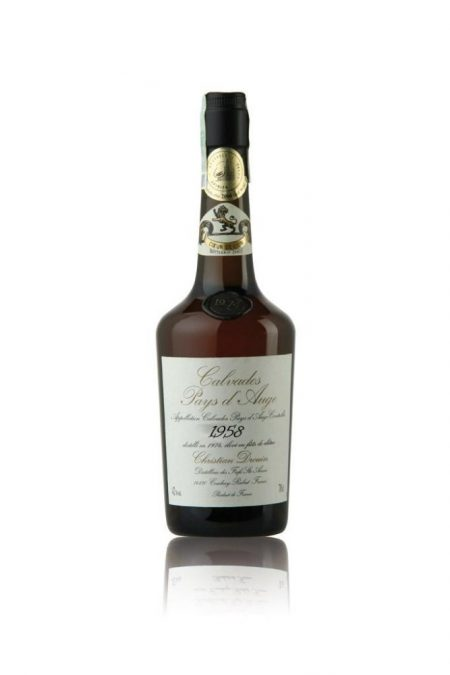 Lahev Calvados Christian Drouin Millesime 1958 0,7l 42%
