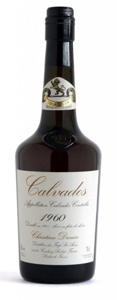 Lahev Calvados Christian Drouin Millesime 1960 0,7l 42%