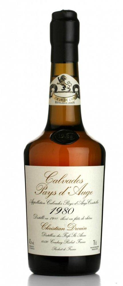 Lahev Calvados Christian Drouin Millesime 1980 0,7l 42%