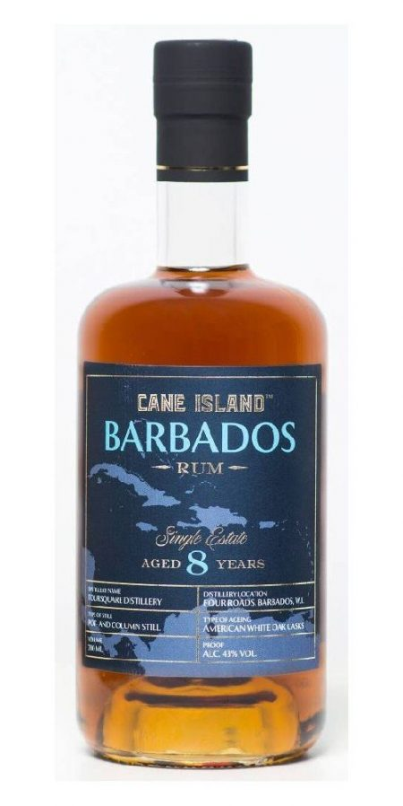 Lahev Cane Island Barbados Rum 8y 0,7l 43%