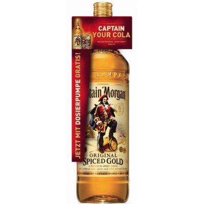 Lahev Captain Morgan Gold Spiced  3l 35%