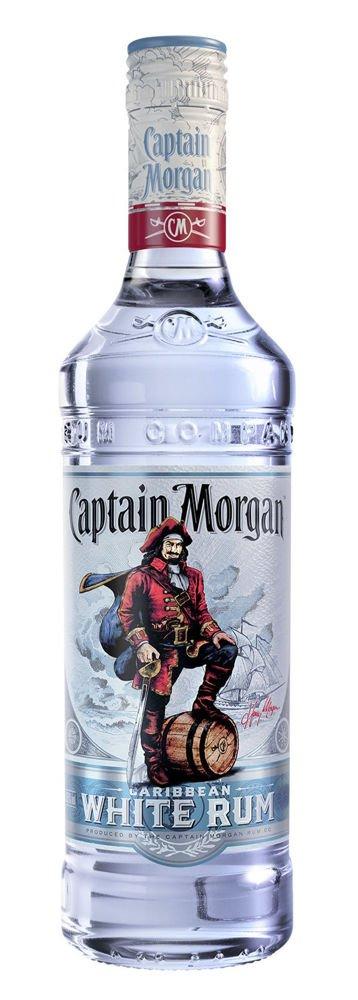 Lahev Captain Morgan White 0,7l 37,5%