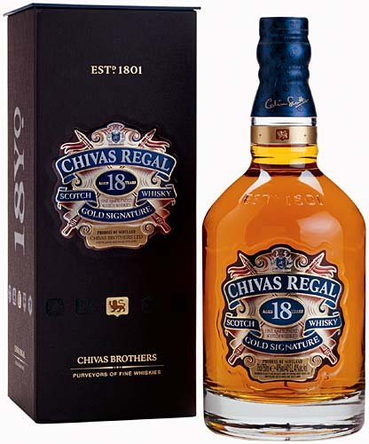 Lahev Chivas Regal 18y 1l 40% GB