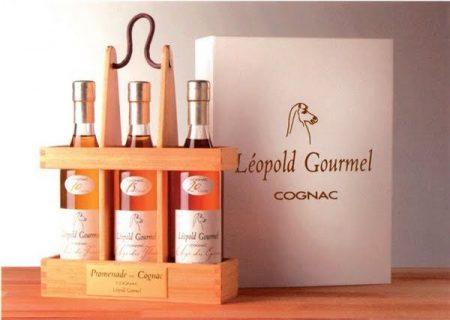 Lahev Cognac Promenade 3x 0,2l 40%
