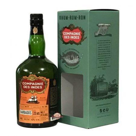 Lahev Compagnie des Indes Barbados Multi Distilleries 20y 1996 0,7l 45%