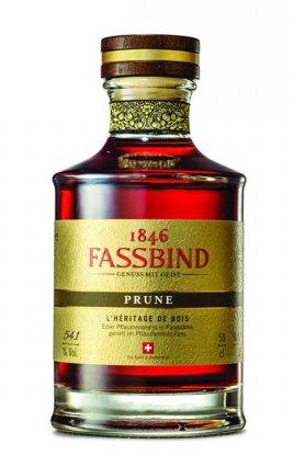 Lahev Fassbind Prune L´Heritage De Bois 0,5l 54,1% GB L.E.
