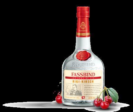 Lahev Fassbind Rigi-Kirsch Eaux De Vie 0,7l 41%