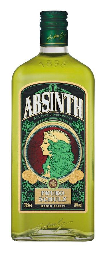 Lahev Fruko Shulz Absinth Magic 0,7l 70%