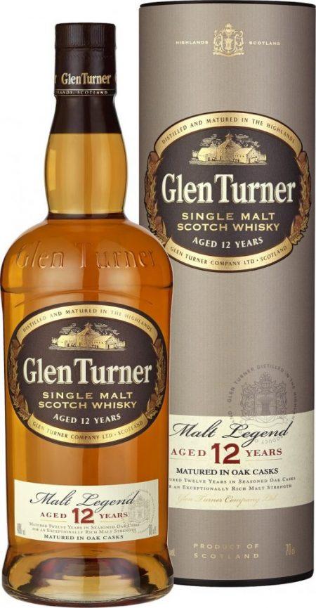 Lahev Glen Turner 12y 0,7l 40%