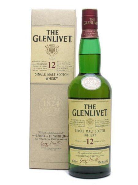Lahev Glenlivet 12y 0,7l 40% GB