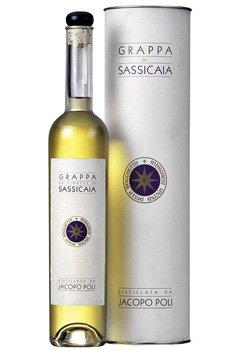 Lahev Grappa Barili di Sassicaia (dárkový box) 0,5l 40%
