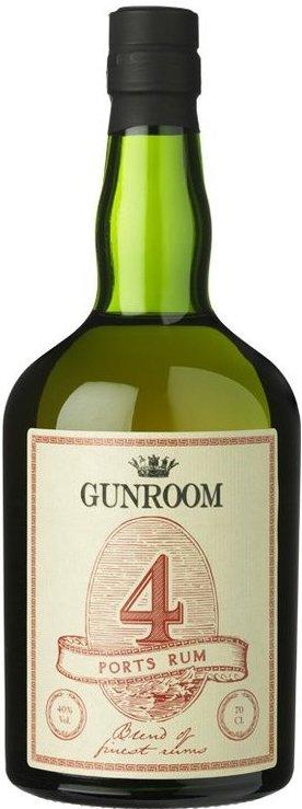 Lahev Gunroom 4 Ports Rum 0,7l 40%
