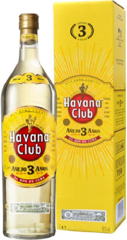 Lahev Havana Club Anejo 3y 3l 40% GB