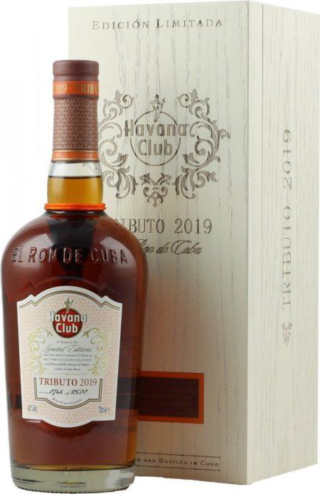 Lahev Havana Club Tributo 2019 0,7l 40% GB L.E.