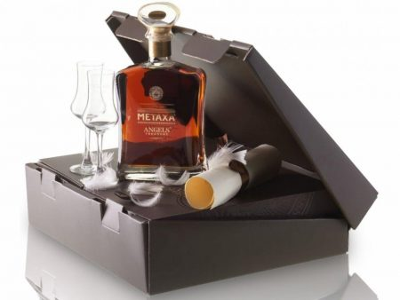 Lahev Metaxa Angels' Treasure 0,7l 41% + 2x sklo GB