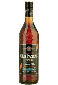 Lahev Old Pascas Dark Rum 0,7l 73%