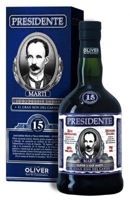 Lahev Presidente Marti 15y 0,7l 40%
