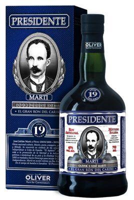 Lahev Presidente Marti 19y 0,7l 40%