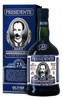 Lahev Presidente Marti 23y 0,7l 40%