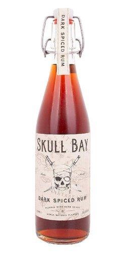 Lahev Skull Bay Rum Spiced  0,5l 37,5%