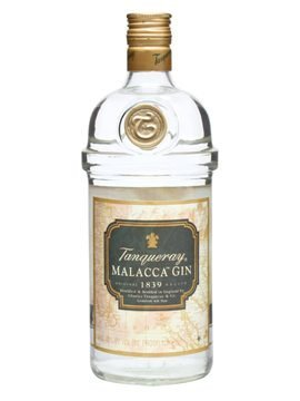 Lahev Tanqueray Malacca Gin 1l 40%