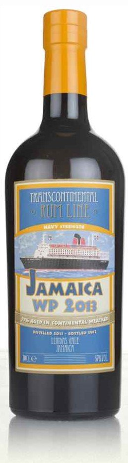 Lahev Trans Continental  Rum Line Jamaica 2013 0,7l 57% GB