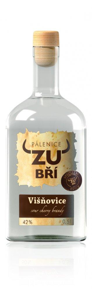 Lahev Višňovice Zubří 0,5l 42% L.E.